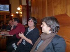 Meine Weggefährtinnen Min Li Marti und Rebekka Wyler im Gemeinderat. Schöne (und erfolgreiche) Zeiten. Vermisse sie.