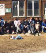 Unser Skischulhäuschen in Celerina; Frühlingszeit - entspannte Zeit