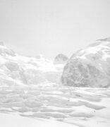 Manchmal mein Arbeitsort. So sah das noch in den 80ern aus. Seither schmilzt der Gletscher dahin.