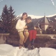 Meine Schwester und ich - irgendwann in den späten 60igern